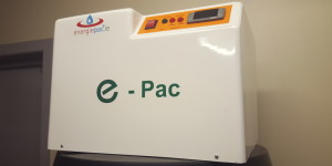 e-pac unit, solar panels water heating unit