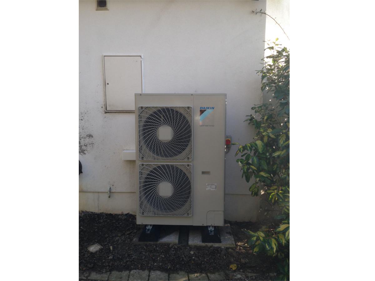 Exterior Heat Pump