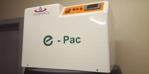 e-pac unit, solar panels water heating unit